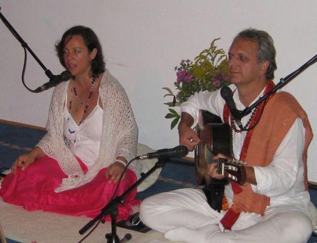 Киртан събитие с Гаури и Санкалпанада от Гърция